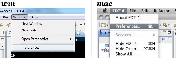 FDT Preferences
